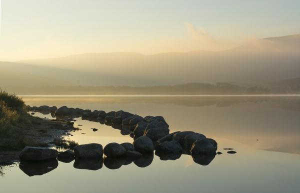 Loch Morlich at Dawn by GAJ