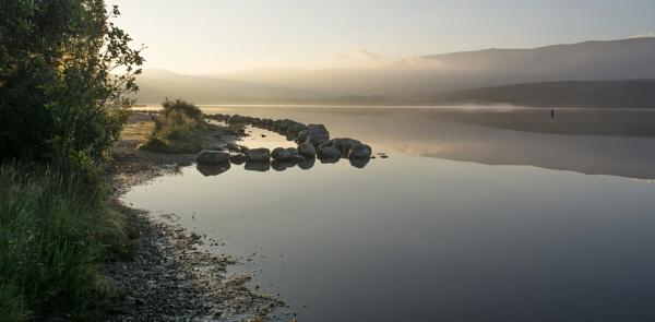 Dawn break at Loch Morlich by GAJ
