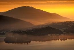Sunrise from Catbells...
