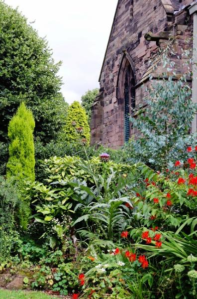 Polesworth Abby Garden by Jocelia
