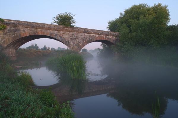 misty river by stuart1963