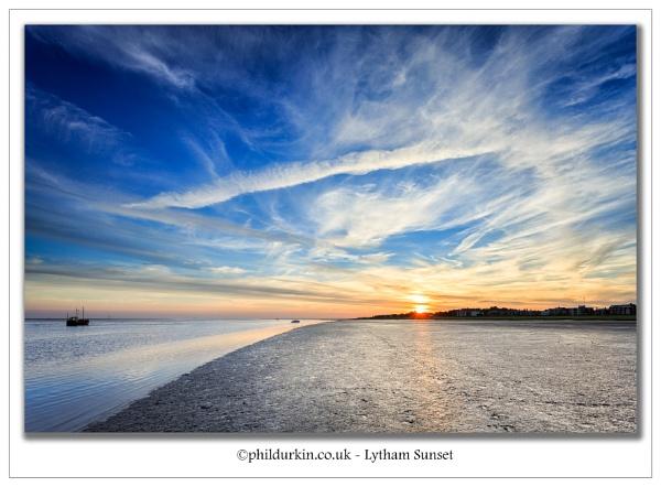 Lytham Sunset by Philpot