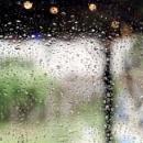 Rain on a pane by banehawi