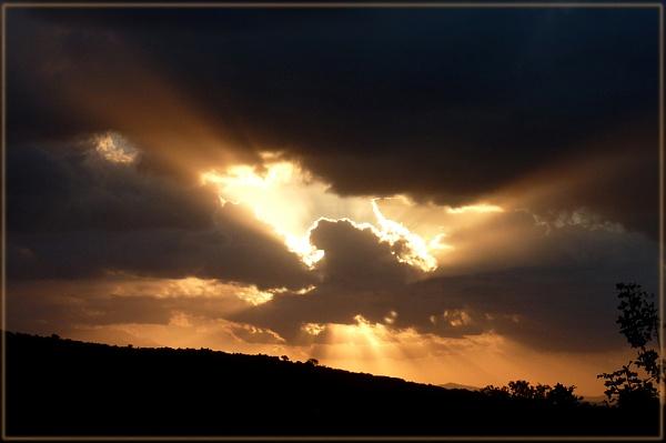 evening skies by CarolG