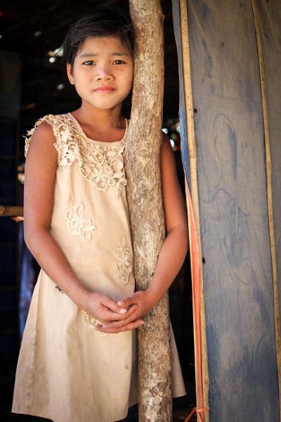Portrait of Asian girl by jonathanfriel
