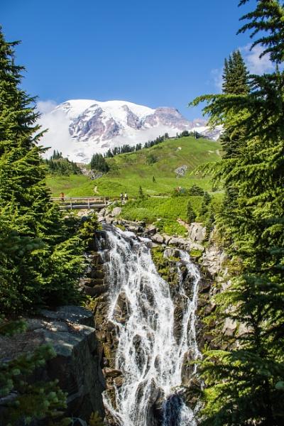 Myrtle Falls by WorldInFocus