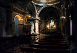 Spanish Church Interior