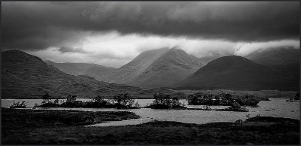 Rannoch Moor, Scotland by fentiger