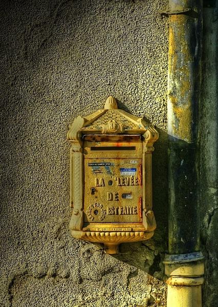 Ye Olde Letterbox. by NotLostinFrance