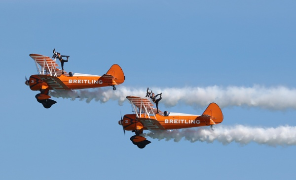 Wing walkers by GTX