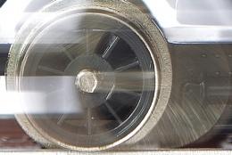 Photo : Model Locomotive Wheel