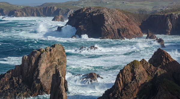Angry Seas... by Scottishlandscapes