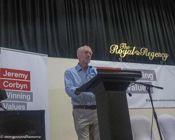 Jeremy Corbyn by Pianoman