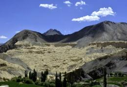 Natural scene on Leh highway