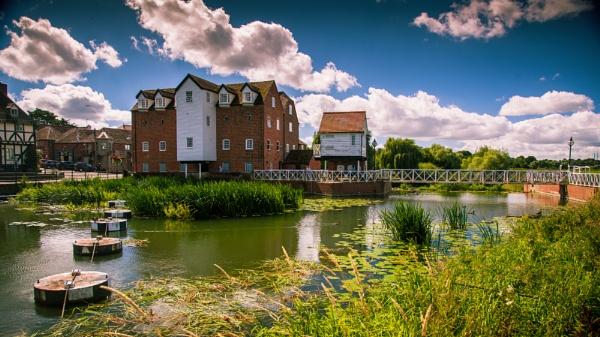 Tewkesbury Abbey Mill & Sluice Gate by sdg_77