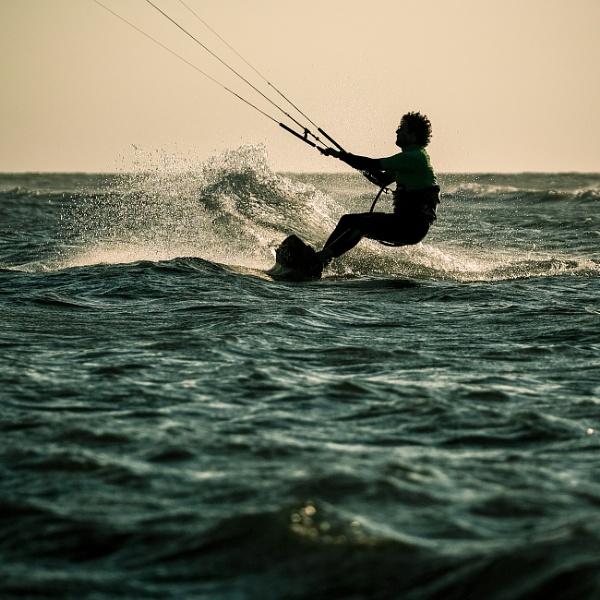 Kite Surfers series by Drummerdelight