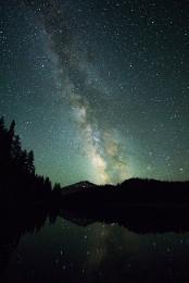 Milky Way over Todd Lake