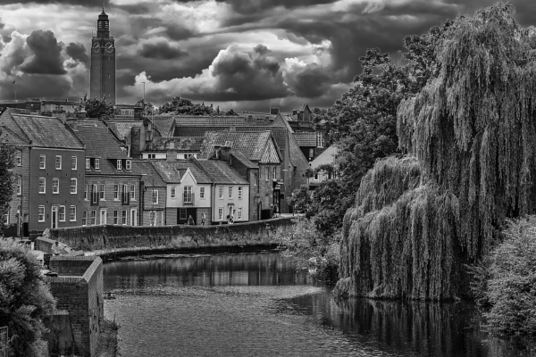 Norwich monochrome 2 by davebk