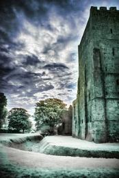 Portchester castle.IR