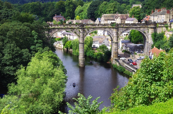 Knaresborough View by johnwnjr