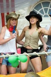 Lady's in hats