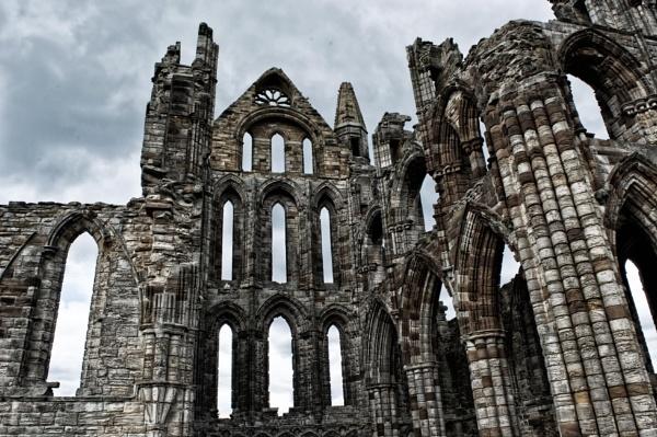 whitby abbey by stevegilman