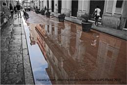 Havana Street, After the Rain Storm.