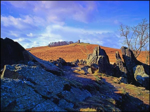 Rocky Outcrop. by silverfoxey