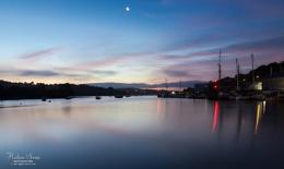 Dawn on Penryn River