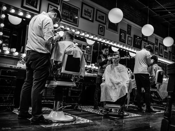 Barbers\' Shop by neilrwalker