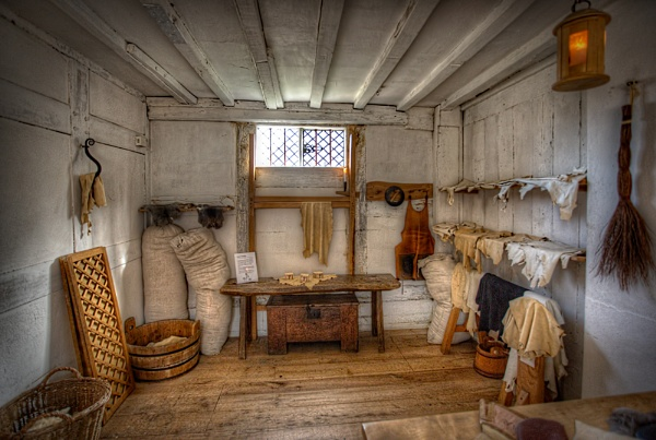 Glover\'s Workshop. by Russell_Charles