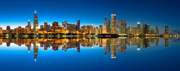 Chicago Skyline by nickmoulds
