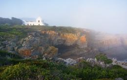 Sea mist at sundown...