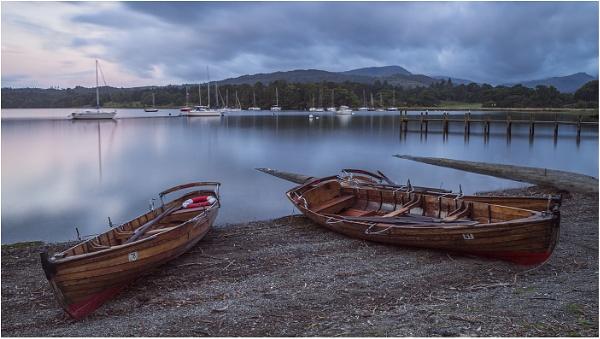 Boats at Dawn by Leedslass1