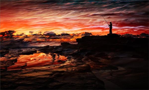 Fisherman\'s Fire by BarryBeckham