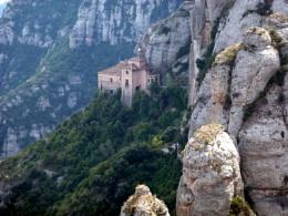 View from Montserrat Monastary.  Spain
