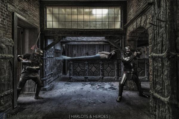 Saving Siren (Harlots & Heroes) by MartinVanners
