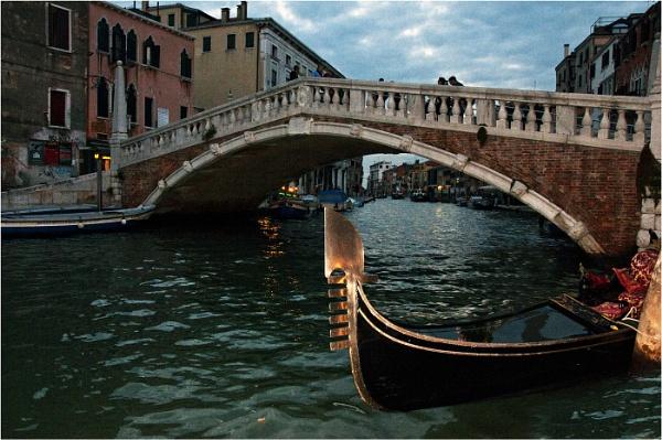 Evening light Venice by dven