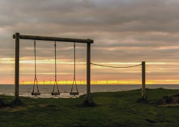 the swings at rest