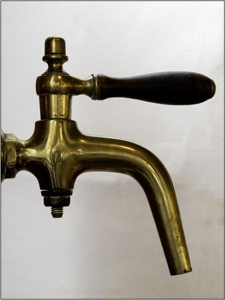 Brass Tap by woolybill1