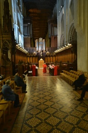 Choir Practice , St.Albans Cathedral.