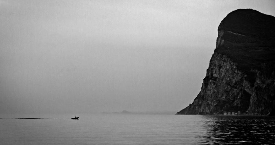 Crossing Lake Garda