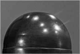 Photo : Light on the sphere