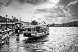 Ferry on Lake Iseo at Sarnico