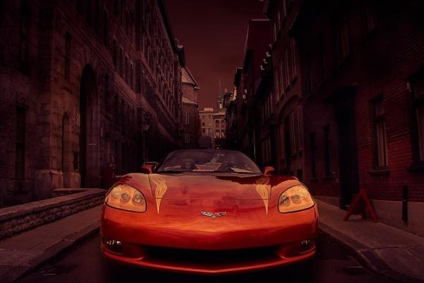 Corvette Composite No. 1 by Brianmdoucette
