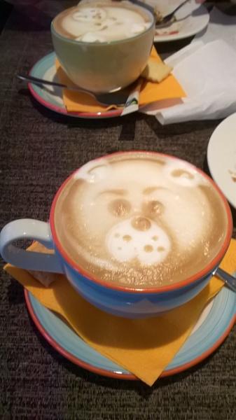 Teddy Bear\'s Latte by cats_123