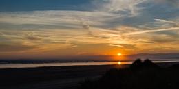 Cefn Sidan Sunset
