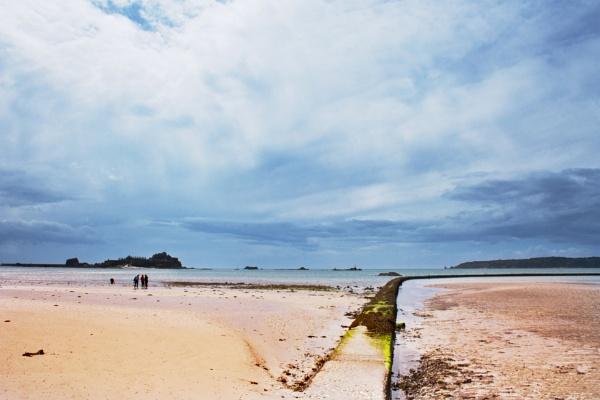 Jersey beach by Diyena