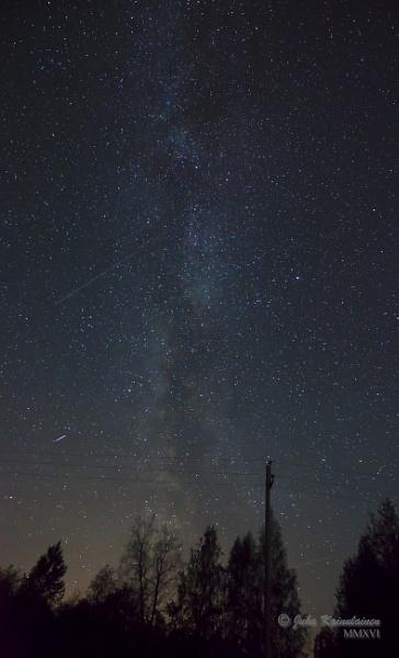 Falling stars by jupokoo