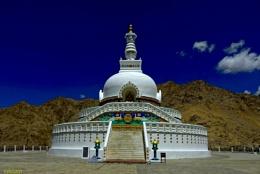 Shanti Stupa, Leh [India]